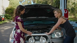 Victoria Lamb, Steph Scully in Neighbours Episode 7516