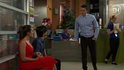 Paige Novak, David Tanaka, Jack Callaghan in Neighbours Episode 7517