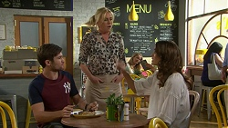 Ned Willis, Lauren Turner, Elly Conway in Neighbours Episode 7517