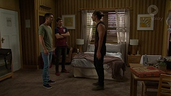 Mark Brennan, Ned Willis, Tyler Brennan in Neighbours Episode 7517