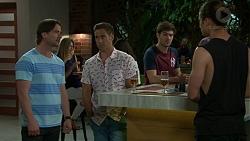 Brad Willis, Aaron Brennan, Ned Willis, Tyler Brennan in Neighbours Episode 7518
