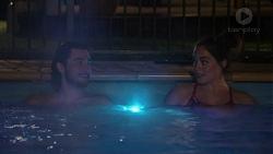 David Tanaka, Paige Novak in Neighbours Episode 7518