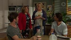 Ned Willis, Terese Willis, Lauren Turner, Brad Willis in Neighbours Episode 7518
