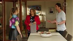 Piper Willis, Terese Willis, Brad Willis in Neighbours Episode 7518