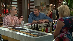 Xanthe Canning, Gary Canning, Sheila Canning in Neighbours Episode 7519