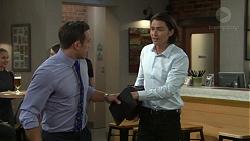 Aaron Brennan, Leo Tanaka in Neighbours Episode 7519