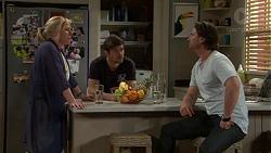 Lauren Turner, Ned Willis, Brad Willis in Neighbours Episode 7519