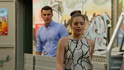 Jack Callaghan, Paige Novak in Neighbours Episode 7519
