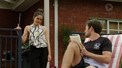 Paige Novak, Ned Willis in Neighbours Episode 7519
