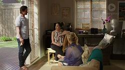 Brad Willis, Paige Novak, Lauren Turner in Neighbours Episode 7519