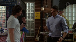 Brad Willis, Jack Callaghan in Neighbours Episode 7519
