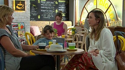 Steph Scully, Nell Rebecchi, Sonya Mitchell in Neighbours Episode 7520