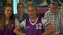 Xanthe Canning, Amy Williams, Xanthe Canning, Paul Robinson in Neighbours Episode 7520