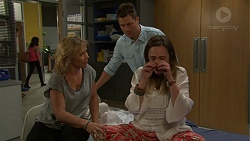 Steph Scully, Mark Brennan, Sonya Mitchell in Neighbours Episode 7521