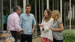 Karl Kennedy, Mark Brennan, Sonya Mitchell, Steph Scully in Neighbours Episode 7521