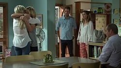 Andrea Somers (posing as Dee), Steph Scully, Mark Brennan, Sonya Rebecchi, Toadie Rebecchi in Neighbours Episode 7521