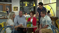 Dee Bliss, Karl Kennedy, Susan Kennedy, Ben Kirk, Toadie Rebecchi in Neighbours Episode 7522