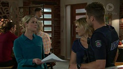 Ellen Crabb, Steph Scully, Mark Brennan in Neighbours Episode 7522