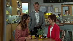 Elly Conway, Paul Robinson, Susan Kennedy in Neighbours Episode 7523