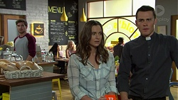 Ned Willis, Amy Williams, Jack Callaghan in Neighbours Episode 7523