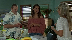Toadie Rebecchi, Elly Conway, Dee Bliss in Neighbours Episode 7523
