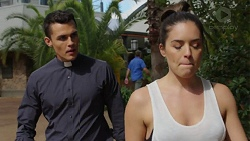 Jack Callaghan, Paige Novak in Neighbours Episode 7523