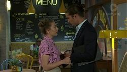 Piper Willis, Tyler Brennan in Neighbours Episode 7524