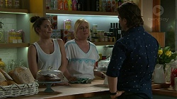 Paige Novak, Lauren Turner, Brad Willis in Neighbours Episode 7524