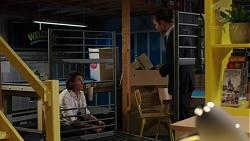 Leo Tanaka, Tyler Brennan in Neighbours Episode 7524