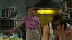 Piper Willis, Paige Smith in Neighbours Episode 7524