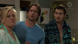 Lauren Turner, Brad Willis, Ned Willis in Neighbours Episode 7524
