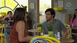 Paige Smith, David Tanaka in Neighbours Episode 7524