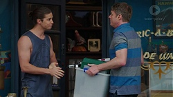 Aaron Brennan, Gary Canning in Neighbours Episode 7524
