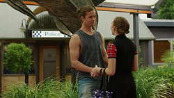 Tyler Brennan, Piper Willis in Neighbours Episode 7524