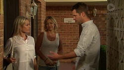 Dee Bliss, Steph Scully, Mark Brennan in Neighbours Episode 7527
