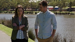 Sonya Mitchell, Mark Brennan in Neighbours Episode 7527