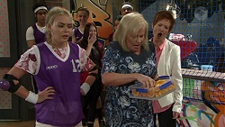 Xanthe Canning, Sheila Canning, Susan Kennedy in Neighbours Episode 7527