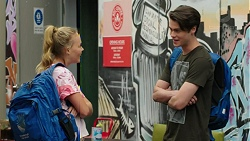 Xanthe Canning, Ben Kirk in Neighbours Episode 7527