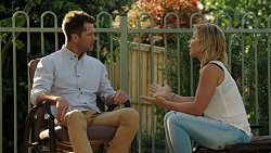 Mark Brennan, Steph Scully in Neighbours Episode 7527