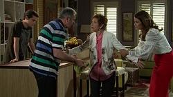 Ben Kirk, Karl Kennedy, Susan Kennedy, Elly Conway in Neighbours Episode 7528