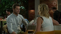 Mark Brennan, Steph Scully in Neighbours Episode 7528