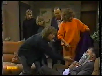 Scott Robinson, Charlene Robinson, Dan Ramsay, Madge Bishop, Henry Ramsay, Harold Bishop in Neighbours Episode 0773