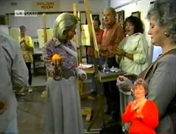 Helen Daniels, Tom Weaver, Pam Willis in Neighbours Episode 2106