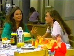 Julie Robinson, Debbie Martin in Neighbours Episode 2106