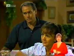 Doug Willis, Pam Willis in Neighbours Episode 2106