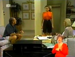 Doug Willis, Julie Robinson, Helen Daniels in Neighbours Episode 2106