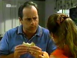 Philip Martin, Julie Robinson in Neighbours Episode 2106