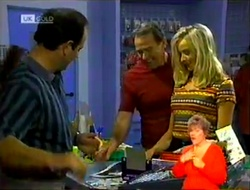 Philip Martin, Doug Willis, Annalise Hartman in Neighbours Episode 2107