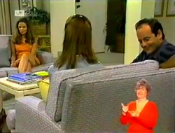 Julie Robinson, Janet Harper, Philip Martin in Neighbours Episode 2107