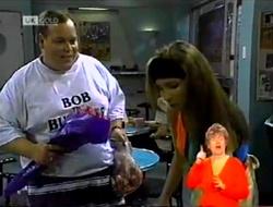 Bob Lazarus, Kristy in Neighbours Episode 2107